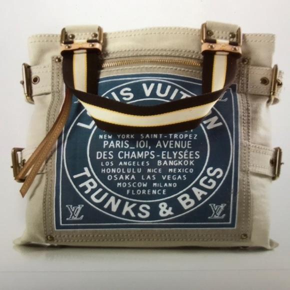 f14f9c6c5372 Louis Vuitton Handbags - Louis Vuitton Toile Globe Shopper Cabas MM